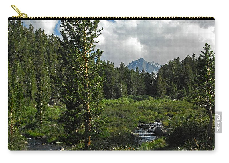 Rock Creek Carry-all Pouch featuring the photograph Mosquito Flats by Lynn Bauer