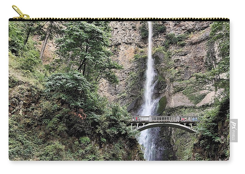 Oregon Carry-all Pouch featuring the photograph Multnomah by Rudy Umans