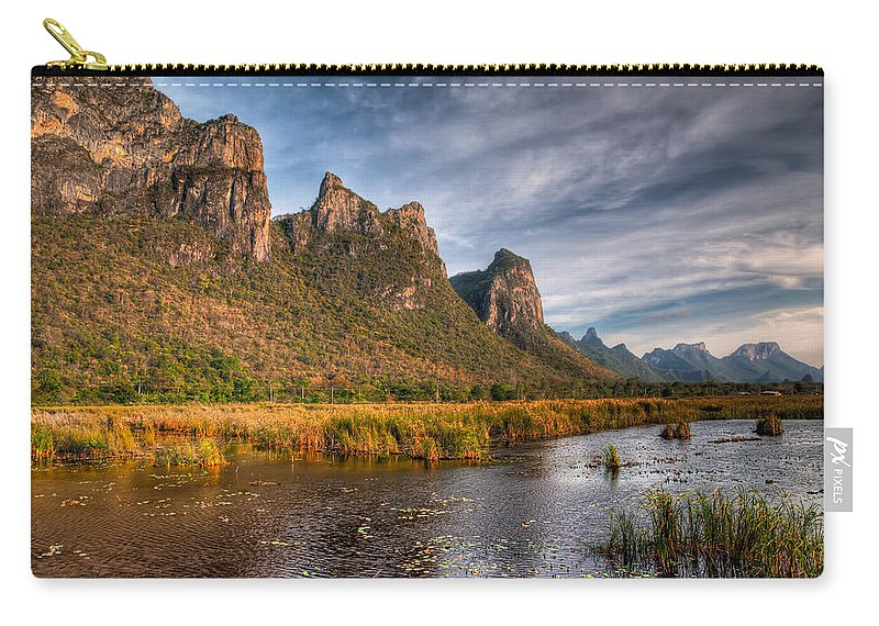 Asia Carry-all Pouch featuring the photograph National Park by Adrian Evans