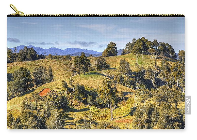 Forest Carry-all Pouch featuring the photograph New Zealand by Les Cunliffe
