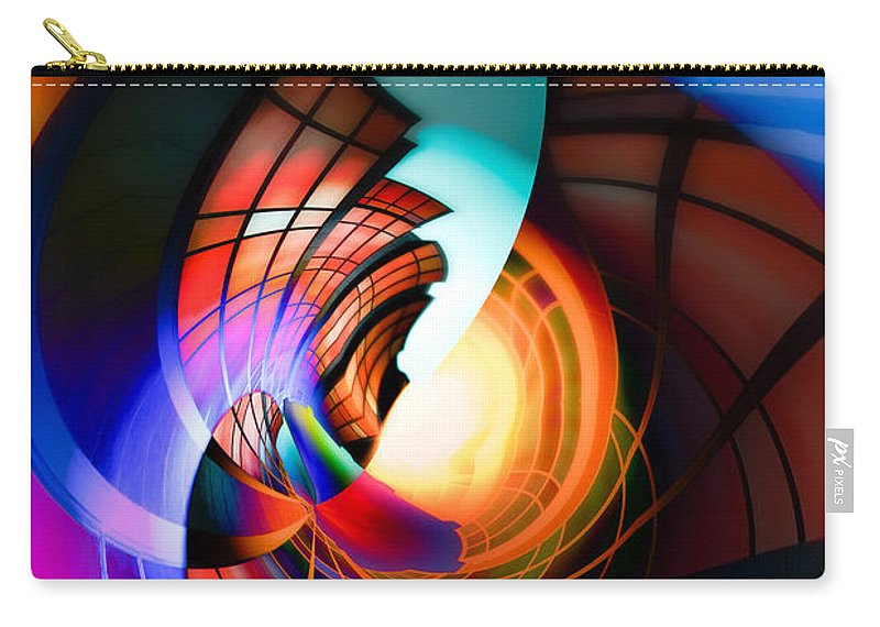 Canon Carry-all Pouch featuring the photograph Night In Town by Hakon Soreide