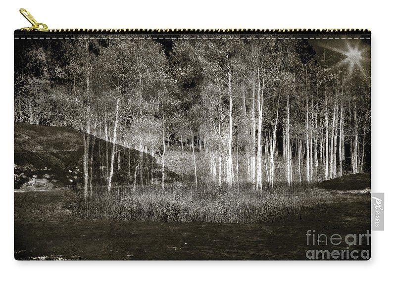Night Carry-all Pouch featuring the photograph Night Magic II by Madeline Ellis