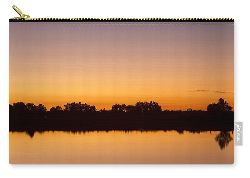 Bench Carry-all Pouch featuring the photograph Peaceful And Calm by James BO Insogna