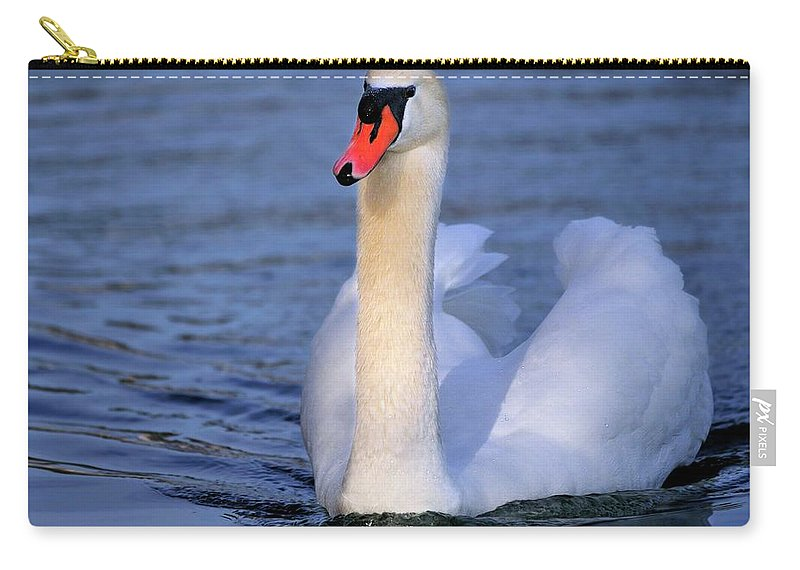 Mute Carry-all Pouch featuring the photograph Peaceful by Bill Dodsworth