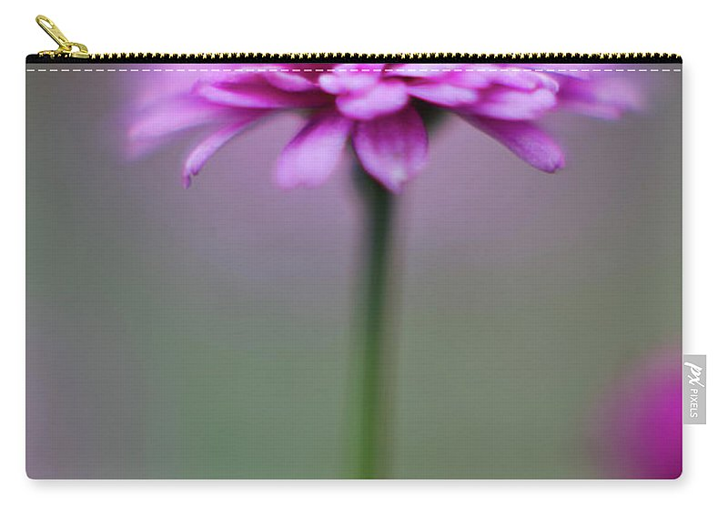 Magena Carry-all Pouch featuring the photograph Pink Flower by Greg Nyquist