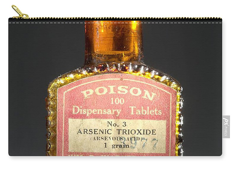 Science Carry-all Pouch featuring the photograph Poison, Circa 1900 by Science Source