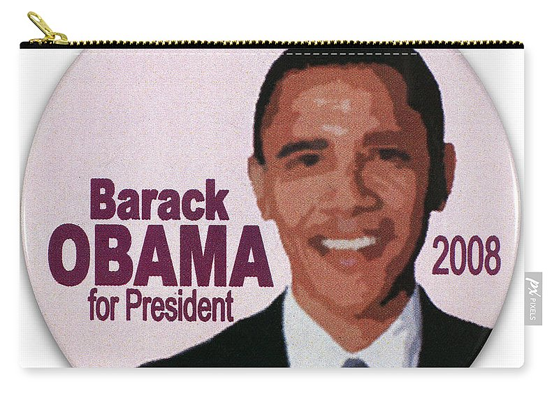 2008 Carry-all Pouch featuring the photograph Presidential Campaign, 2008 by Granger