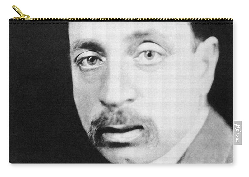 19th Century Carry-all Pouch featuring the photograph Rainer Maria Rilke by Granger