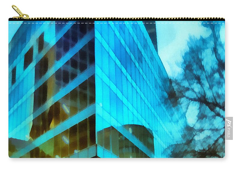 Art Carry-all Pouch featuring the photograph Reflections by Michael Goyberg