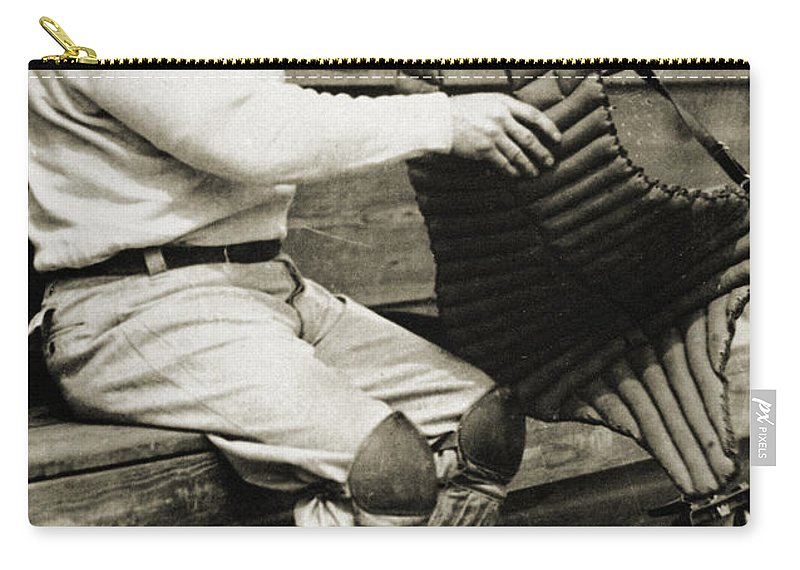 20th Century Carry-all Pouch featuring the photograph Roger Bresnahan (1879-1944) by Granger