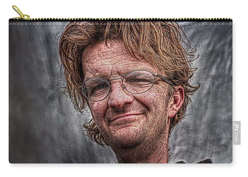 Acrylic Prints Carry-all Pouch featuring the photograph Ron by John Herzog