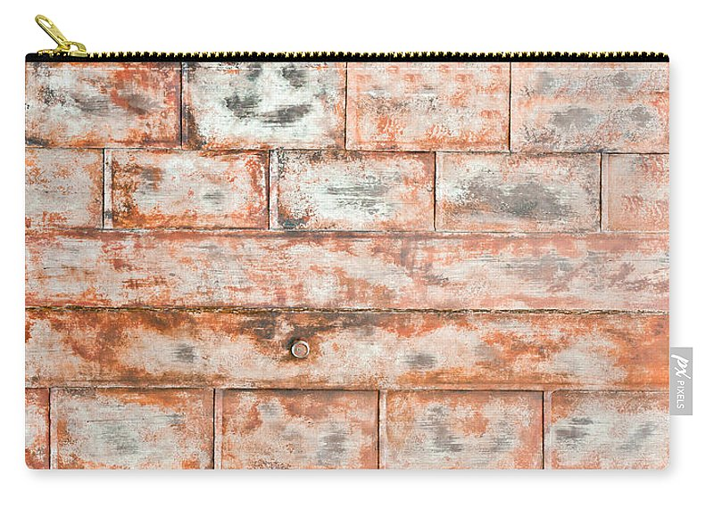 Abstract Carry-all Pouch featuring the photograph Rusty Metal by Tom Gowanlock