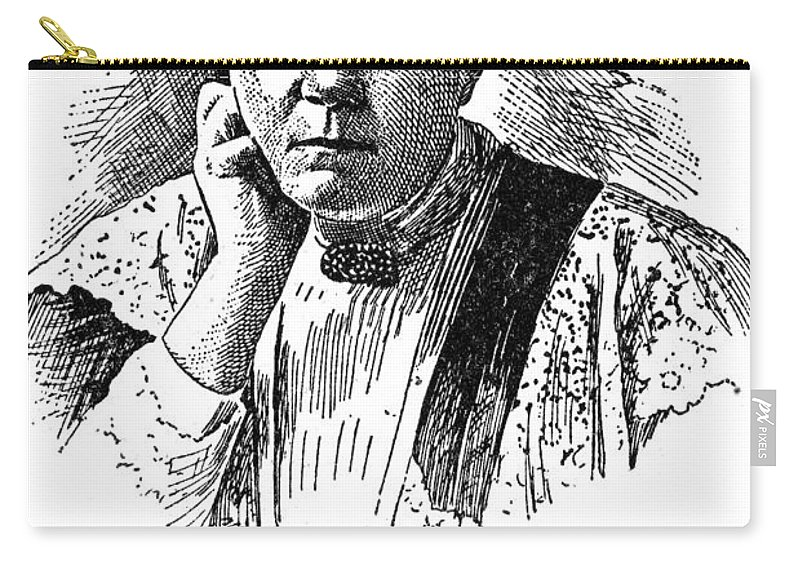 19th Century Carry-all Pouch featuring the photograph Selma Lagerlof (1858-1940) by Granger