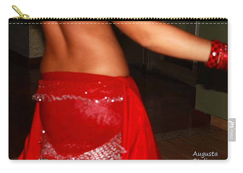 Sexy Body Carry-all Pouch featuring the photograph Sexy Body by Augusta Stylianou
