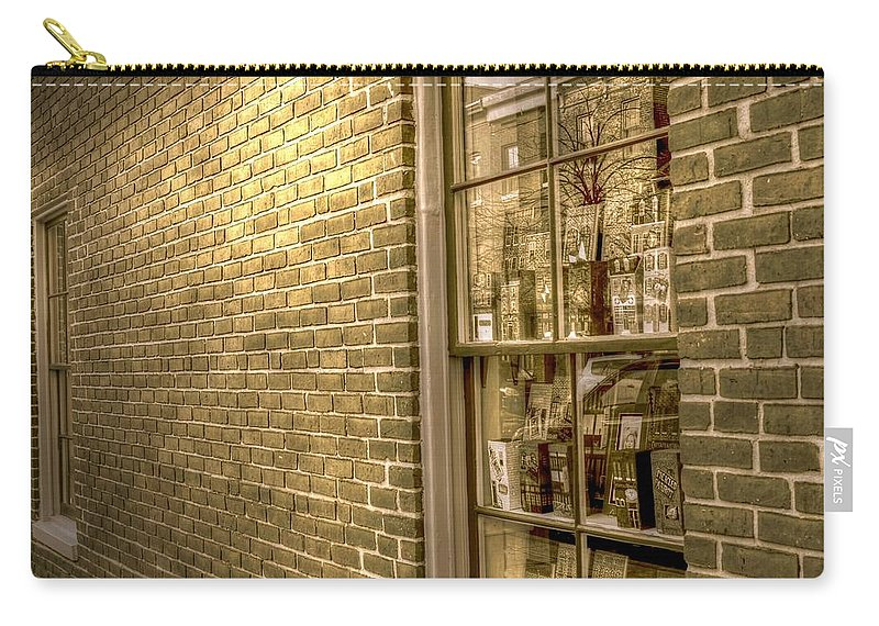 Baltimore Carry-all Pouch featuring the photograph Sideways by Debbi Granruth