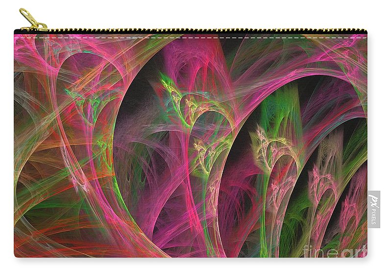 Apophysis Carry-all Pouch featuring the digital art Sirius by Kim Sy Ok