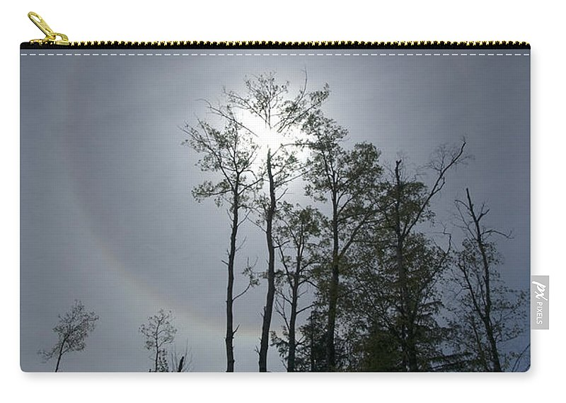 Solar Carry-all Pouch featuring the photograph Solar Halo by Yuichi Takasaka