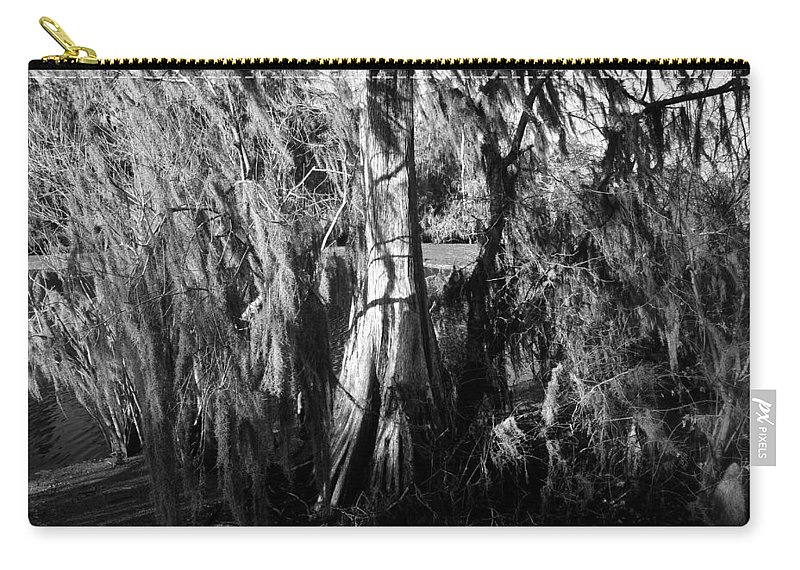 Fine Art Photography Carry-all Pouch featuring the photograph Spanish Moss by David Lee Thompson