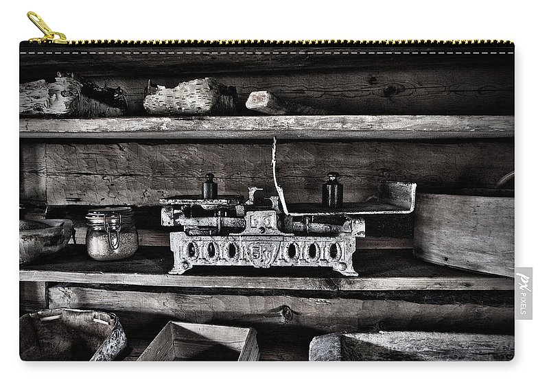 Seitseminen Carry-all Pouch featuring the photograph Steelyard by Jouko Lehto