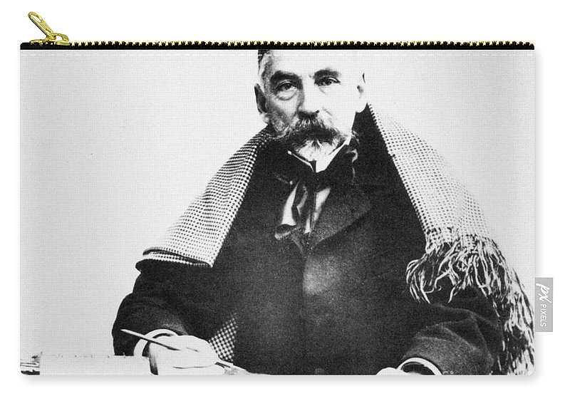 19th Century Carry-all Pouch featuring the photograph Stephane Mallarme by Granger