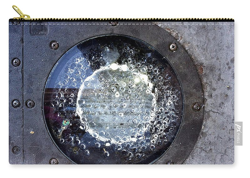 Marlene Burns Carry-all Pouch featuring the photograph Streets Of Scottsdale 3 by Marlene Burns