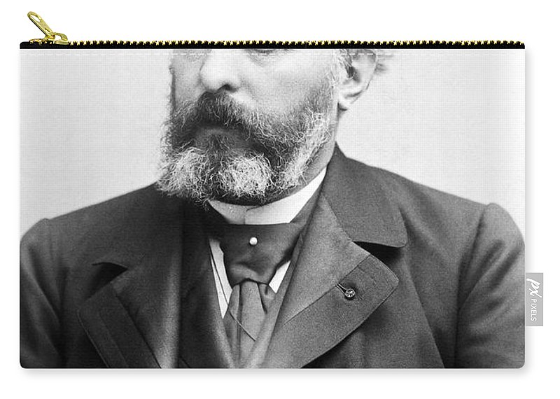 1895 Carry-all Pouch featuring the photograph Sully Prudhomme (1839-1907) by Granger