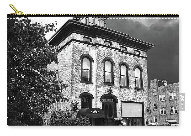 Buildings Carry-all Pouch featuring the photograph Tempo by Guy Whiteley