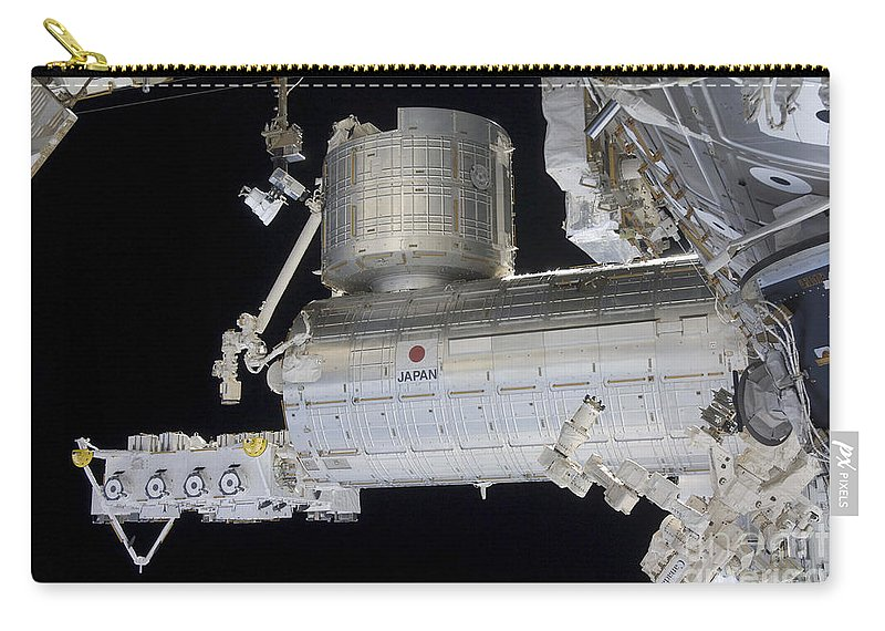 Logistics Carry-all Pouch featuring the photograph The Japanese Experiment Module Kibo by Stocktrek Images