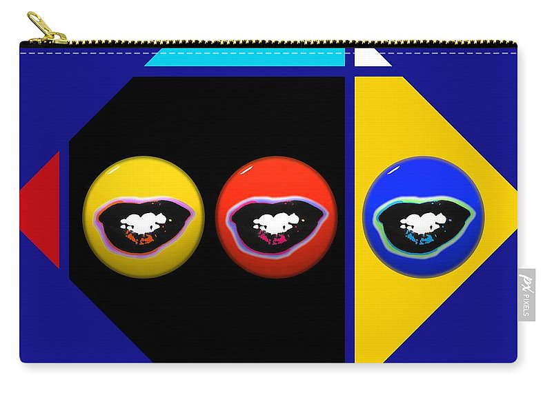 Andy Warhol Carry-all Pouch featuring the digital art The Things You Think Are Precious by Charles Stuart