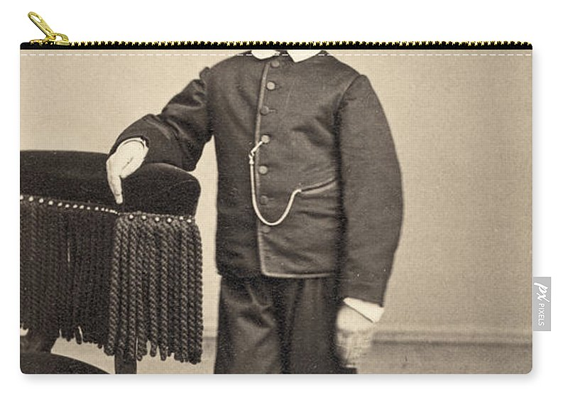 1862 Carry-all Pouch featuring the photograph Thomas Tad Lincoln by Granger