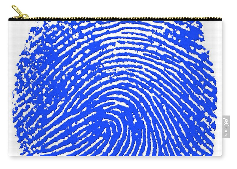 Thumbprint Carry-all Pouch featuring the photograph Thumbprint by Science Source