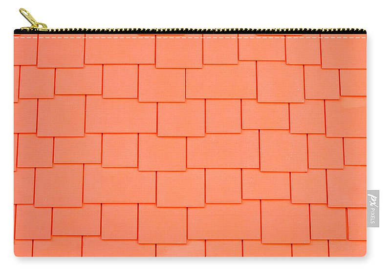 Architecture Carry-all Pouch featuring the photograph Tiles by Tom Gowanlock