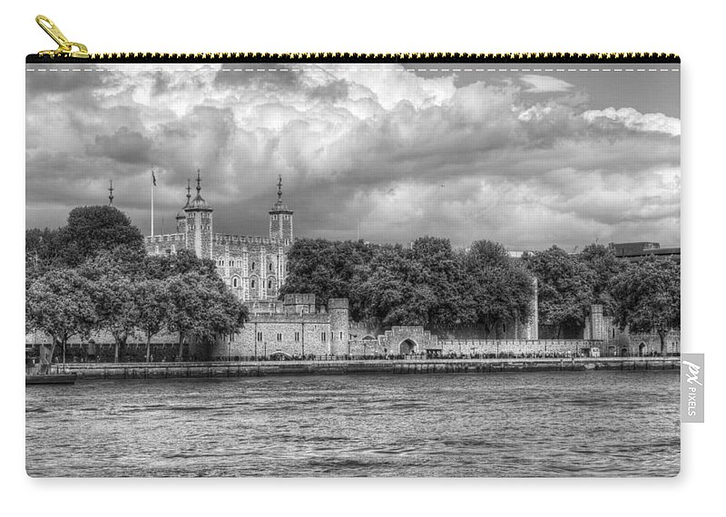 Tower Of London Carry-all Pouch featuring the photograph Tower Of London by Chris Day