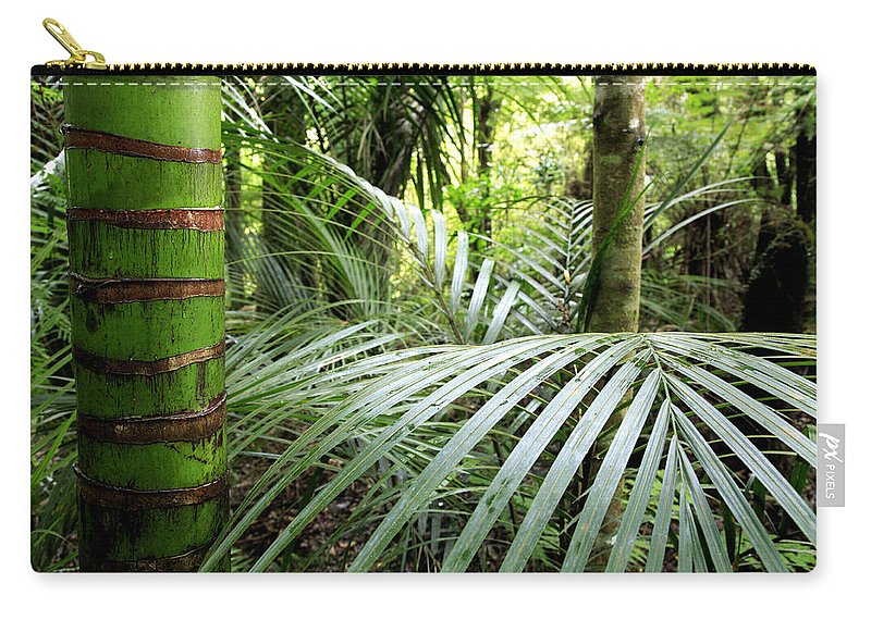 Environment Carry-all Pouch featuring the photograph Tropical Jungle by Les Cunliffe