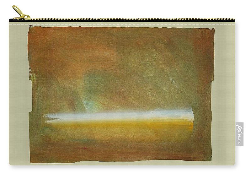 Tsunami Carry-all Pouch featuring the painting Turner Tide by Charles Stuart