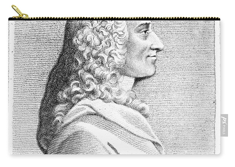 18th Century Carry-all Pouch featuring the photograph Voltaire (1694-1779) by Granger