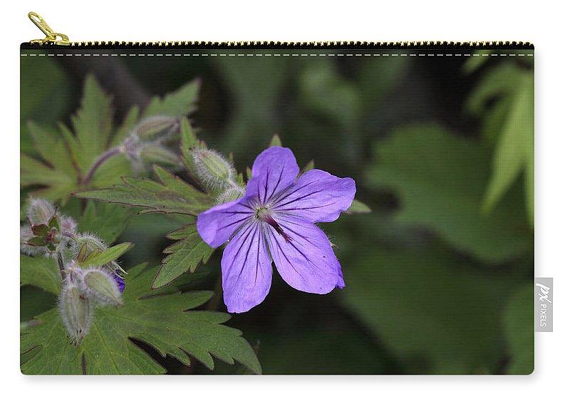 Doug Lloyd Carry-all Pouch featuring the photograph Wild Geranium by Doug Lloyd
