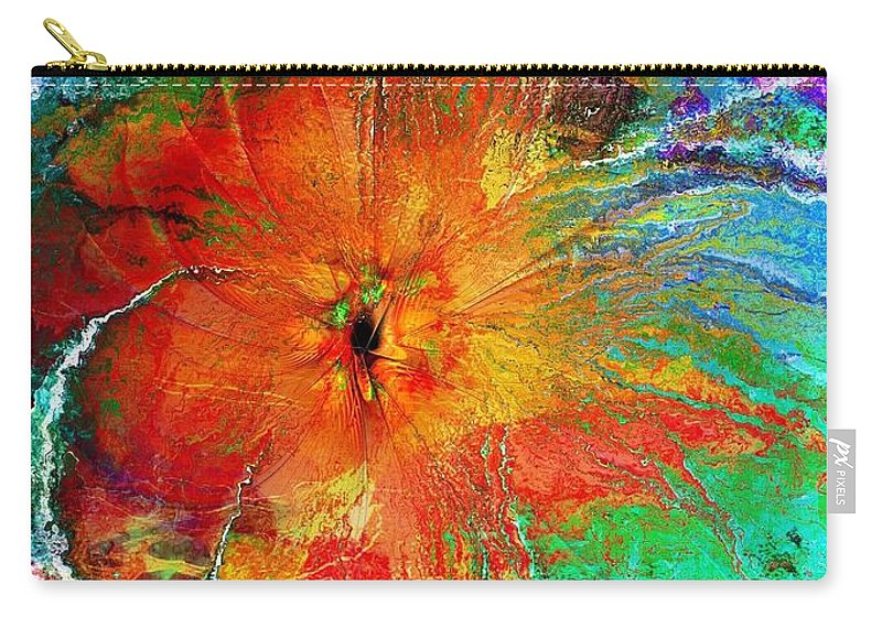 Digital Art Carry-all Pouch featuring the digital art Will You Love Me Tomorrow by Amanda Moore