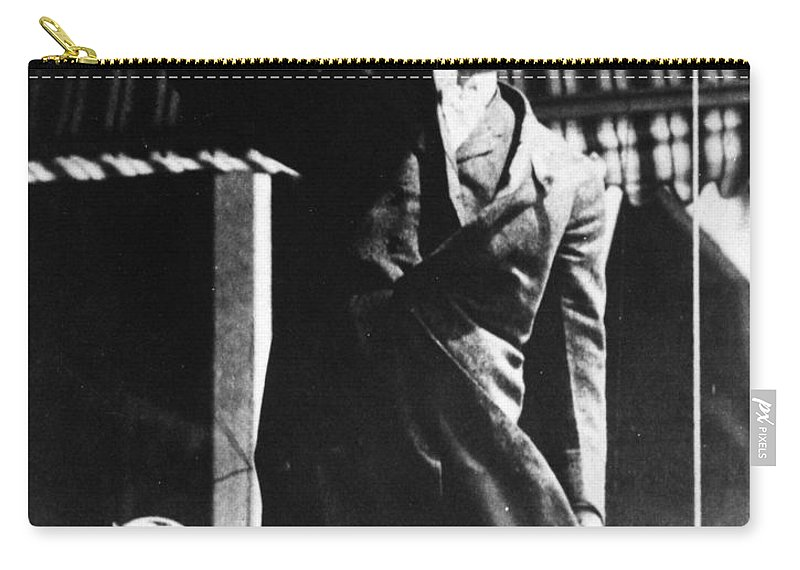 1906 Carry-all Pouch featuring the photograph William Randolph Hearst by Granger