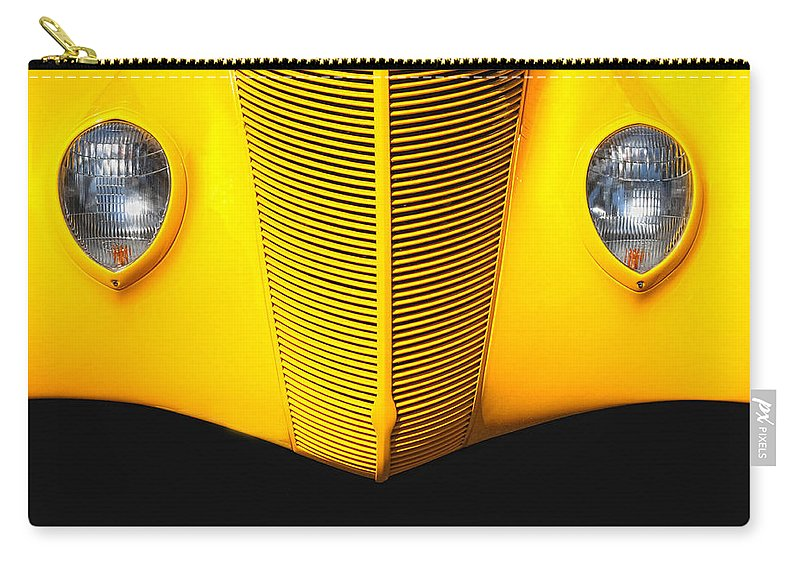 Custom Car Carry-all Pouch featuring the photograph Yellow by Dave Mills