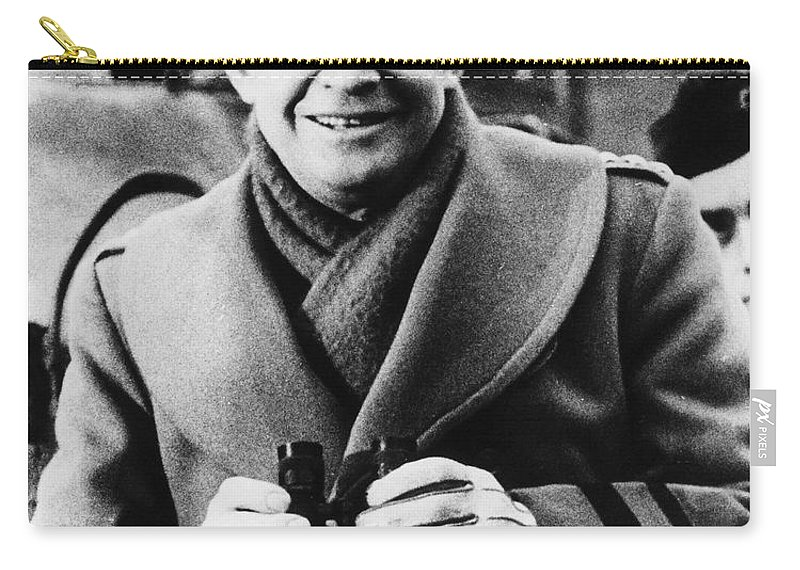 1943 Carry-all Pouch featuring the photograph Dwight D. Eisenhower by Granger