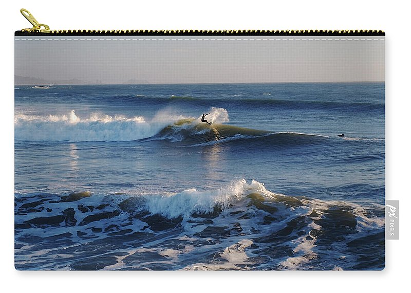 Water Carry-all Pouch featuring the photograph Surfers Make The Ocean Better Series by Teri Schuster