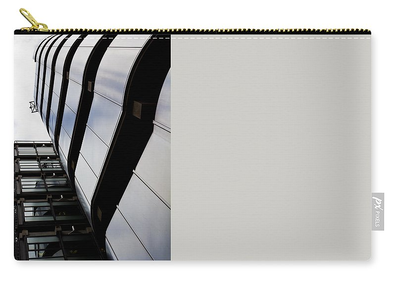 Lloyds Carry-all Pouch featuring the photograph Lloyds Building London by David Pyatt