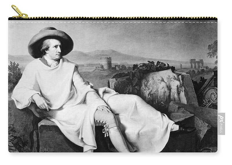 1787 Carry-all Pouch featuring the photograph Johann Goethe (1749-1832) by Granger