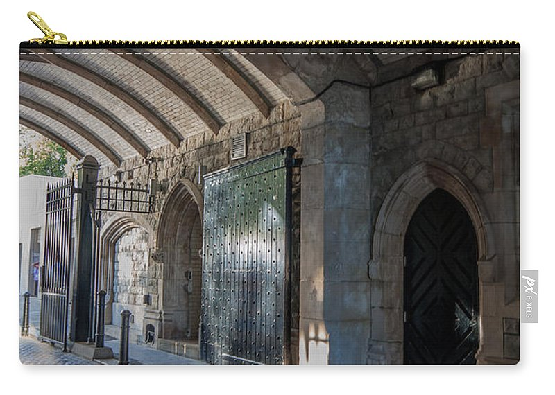 Tower Bridge Carry-all Pouch featuring the photograph Tower Bridge by Dawn OConnor