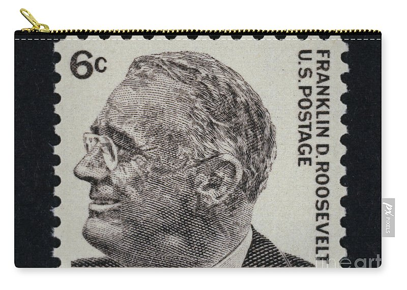 1930s Carry-all Pouch featuring the photograph Franklin Delano Roosevelt by Granger