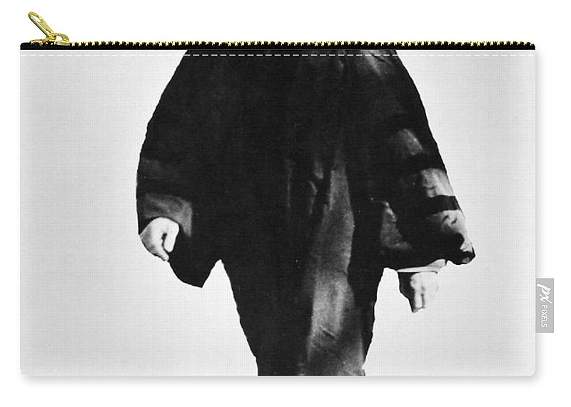 20th Century Carry-all Pouch featuring the photograph Woodrow Wilson (1856-1924) by Granger