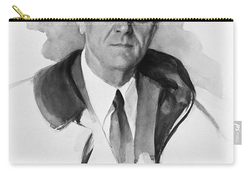 1945 Carry-all Pouch featuring the photograph Franklin Delano Roosevelt by Granger