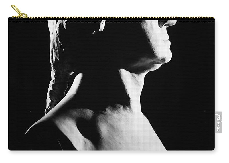 1785 Carry-all Pouch featuring the photograph George Washington by Granger