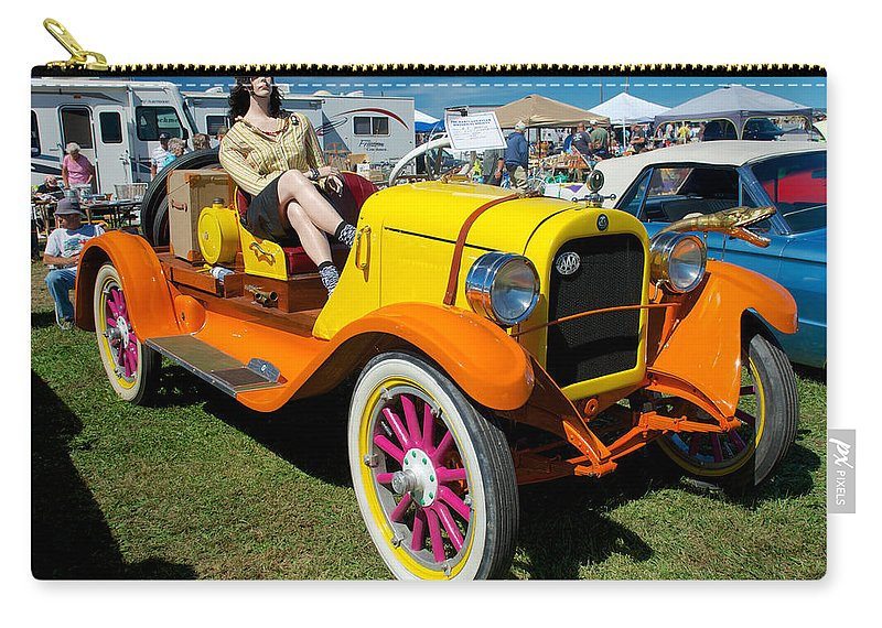 1915 Speedster Carry-all Pouch featuring the photograph 1915 Speedster by Mark Dodd